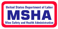 Mine Safety and Health Administration Logo