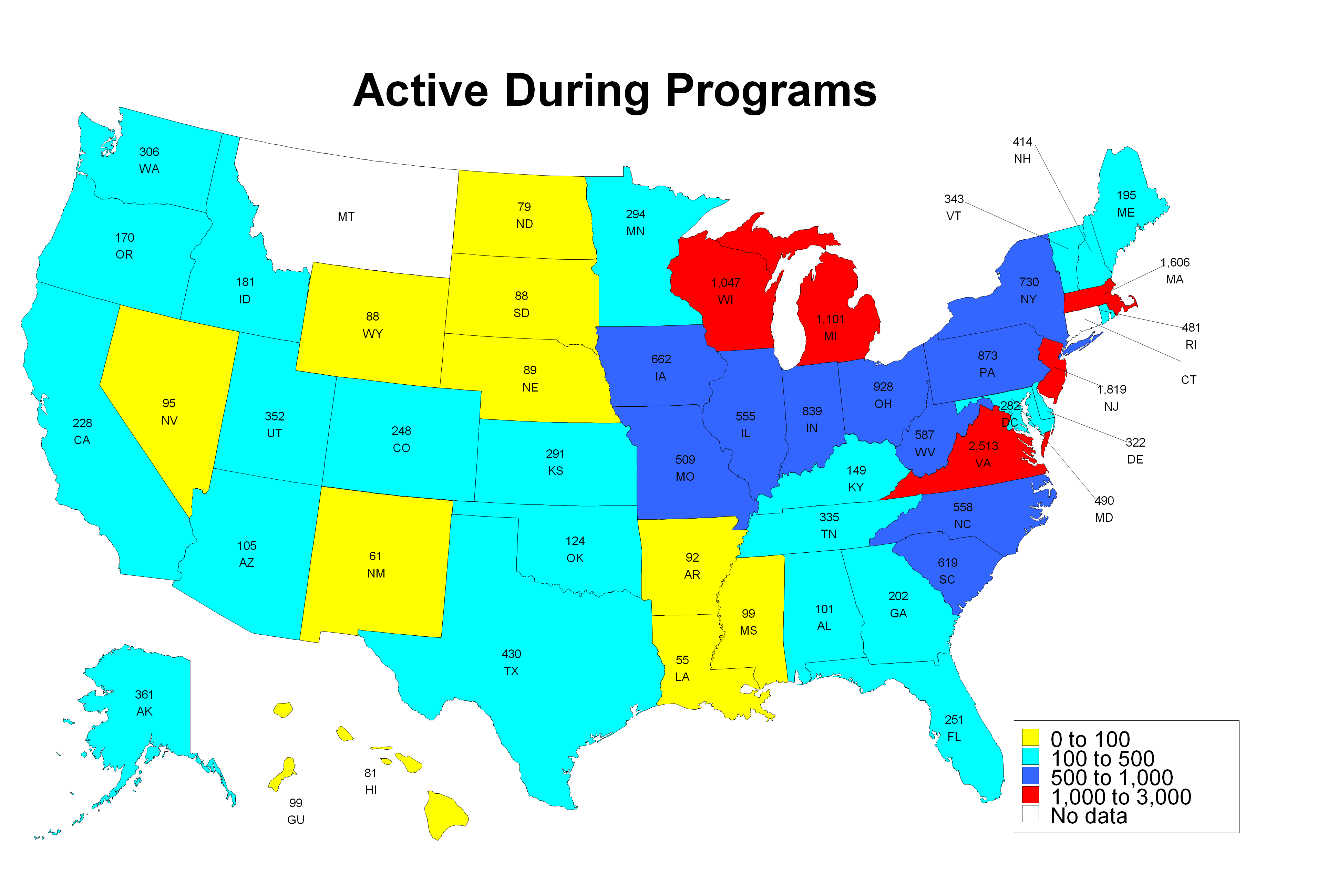 Active During Programs 2013
