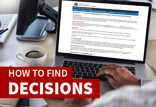 How to Find Decisions