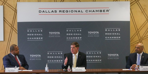 Secretary Walsh at the Dallas Regional Chamber of Congress
