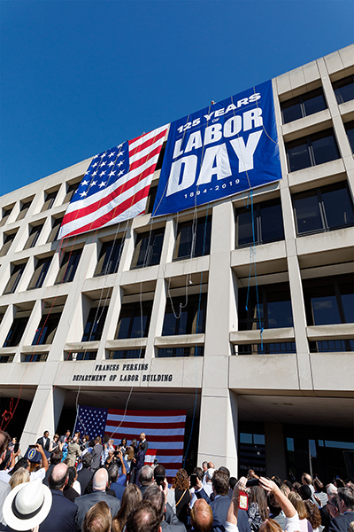 125th anniversary of Labor Day