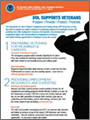 DOL Supports Veterans