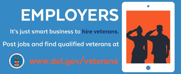 Emplopyers - It's just smart business to hire veterans.
