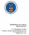 VETS Annual Report to Congress - FY2012