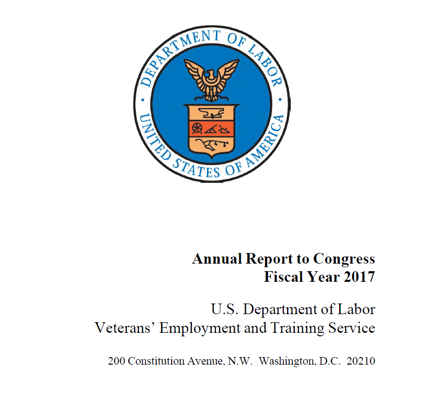 VETS Annual Report to Congress - FY2017