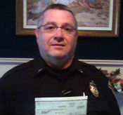 Law enforcement officer Brian Benvie