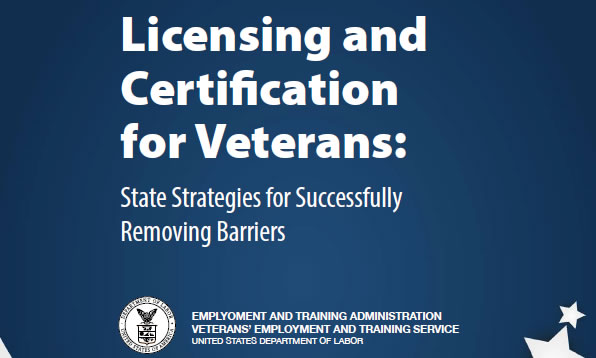 Licensing and Certification for Veterans