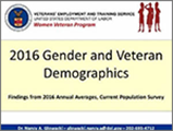 2016 Gender and Veteran Demographics