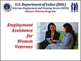 Employment Assistance for Women Veterans