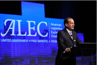 Secretary Acosta speaking at the 44th Annual Meeting of the American Legislative Exchange Council.