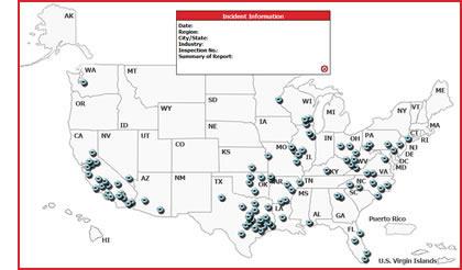OSHA Map