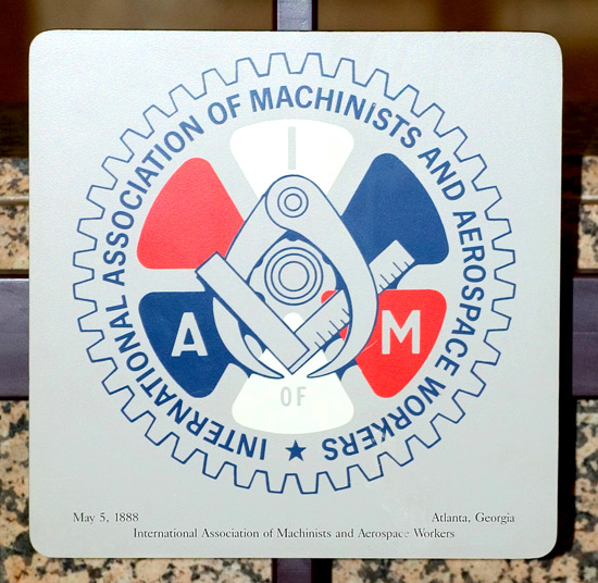 International Association of Machinists and Aerospace Workers logo