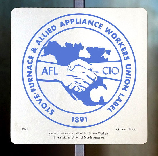 Stove, Furnace and Allied Appliance Workers' International Union of North America logo
