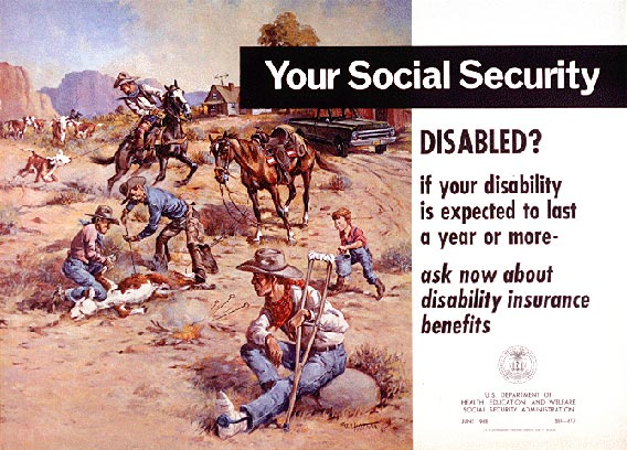 Creation of Social Security Disability Insurance