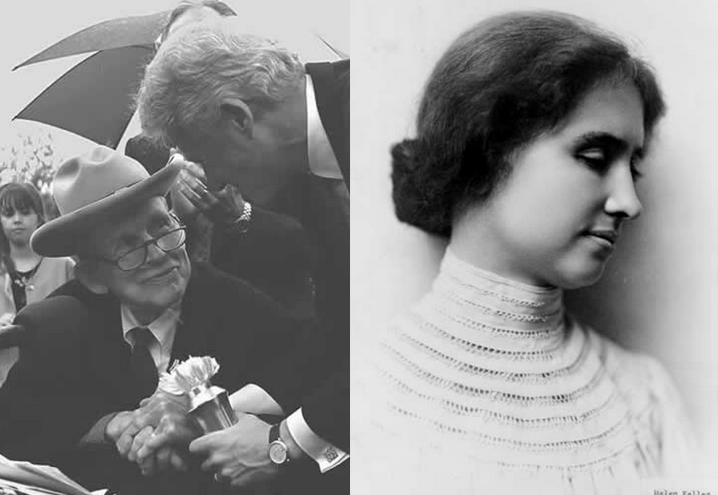 nduction of Justin W. Dart Jr. and Helen Keller into Labor Hall of Honor