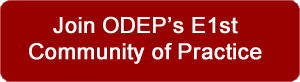 Join  ODEP's E1st Community of Practice