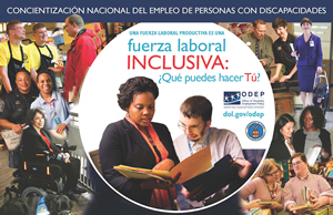 NDEAM 2012 poster: A Strong Workforce is an Inclusive Workforce:  What Can YOU Do?