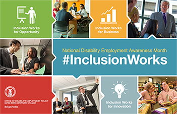 NDEAM 2016 poster: #InclusionWorks