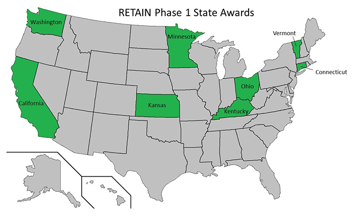 s w  r2w research  u0026 retain demonstration projects - grant recipients