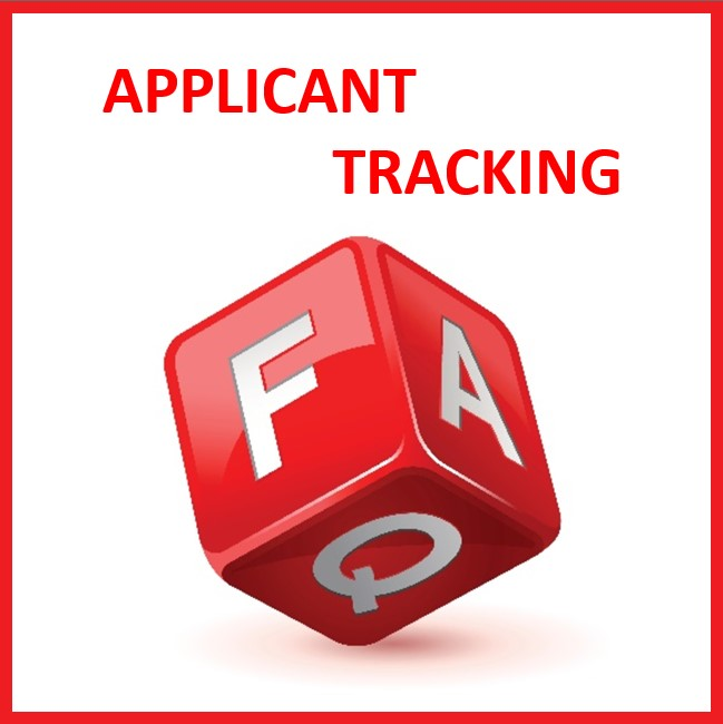 APPLICANT TRACKING FAQS
