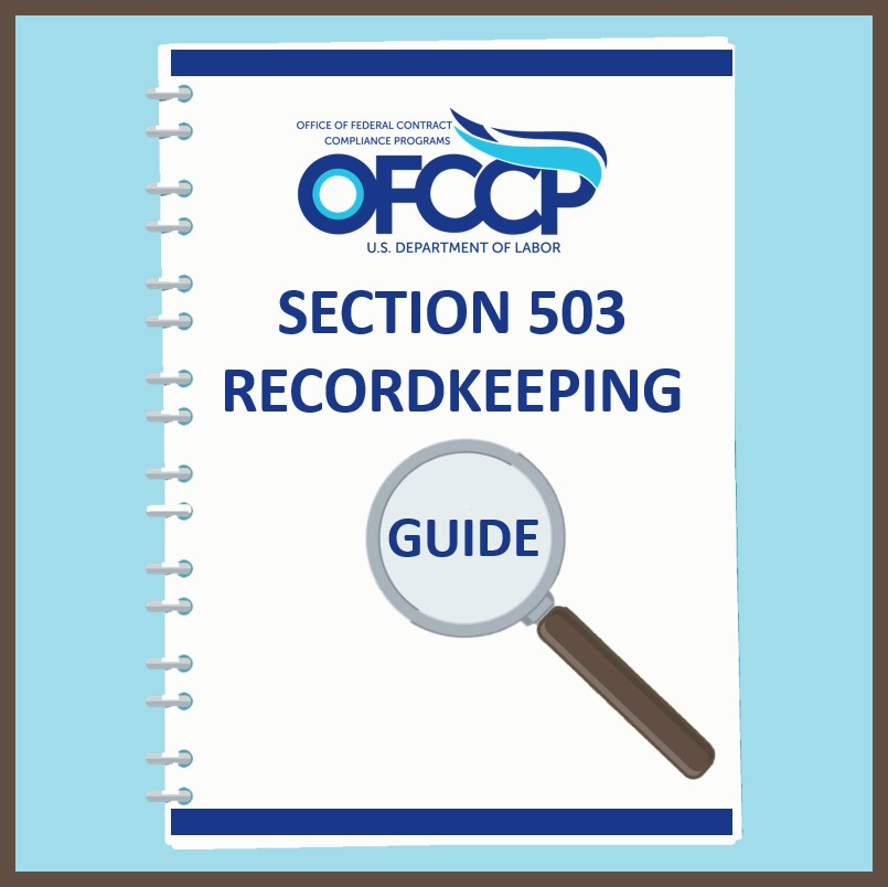 Section 503 Record Keeping Guide