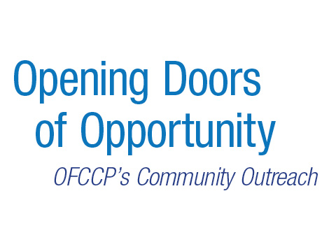 OFCCP Tagline - Community Based Organizations