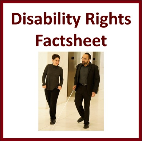 Disability Rights Factsheet