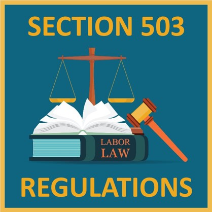Section 503 Regulations
