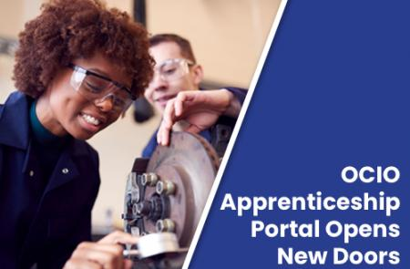 OCIO Apprenticeship Portal Opens New Doors for American Workforce
