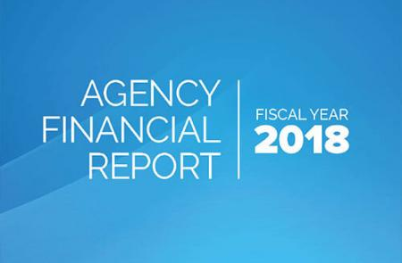 Agency Financial Report 2018