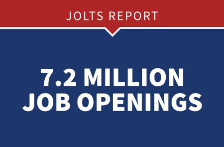 JOLTS Report - 7.2 million job openings