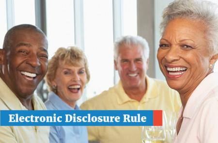 Electronic Disclosure Rule