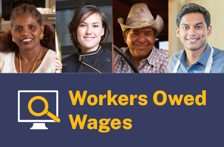 Workers Owed Wages