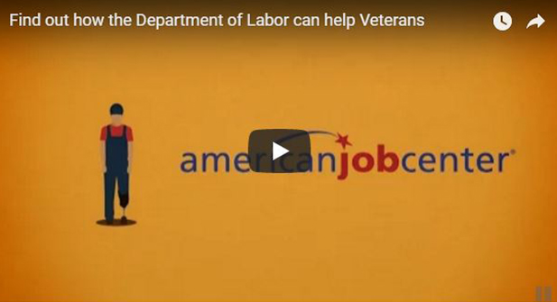 Find out how the Department of Labor can help Veterans